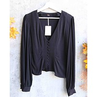 Free People - Maise Top - Black