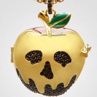 Disney Couture Poison Apple Necklace | Apple Locket | fredflare.com