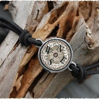 Compass | Reversible Charm Stretch Bracelet