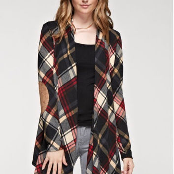 Paige Plaid Jacket