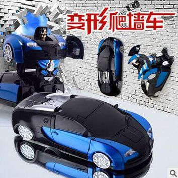 1:24 Climbing Wall Car remote control toys children drift 360-degree rotate electric car nfrared ray RC car child gift
