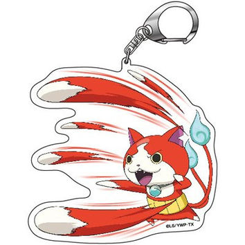 Yokai Watch 'Shoot Hitting Jiba Nhan' Key Holder