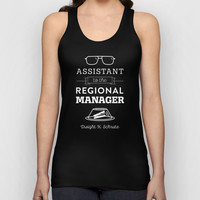 The Office Dunder Mifflin - Assistant to the Regional Manager Unisex Tank Top by Noonday Design