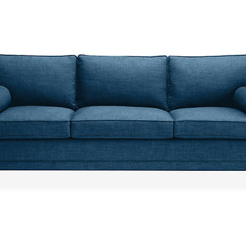 Downing Bolster Sofa, Denim - kate spade new york - Brands | One Kings Lane