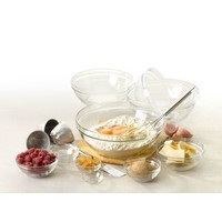 Lys Stackable Clear Bowl, 10-piece set