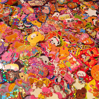 100 Kawaii Sticker Flakes