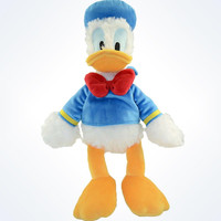 "Disney Parks Authentic Donald Duck 13"" Plush New With Tags"