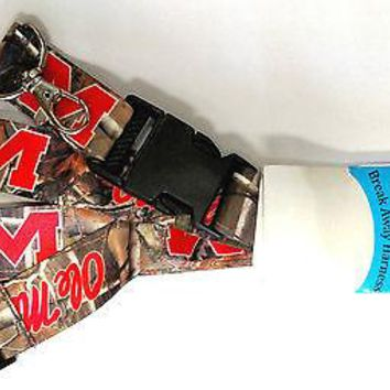 Mississippi Rebels Ole Miss CAMO RR Delux 2-sided Lanyard Keychain University of