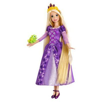 Disney Princess Enchanted Hair Rapunzel Doll