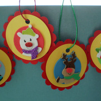 Holiday Ornament Tags