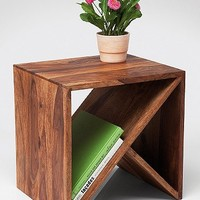 Zig Zag Cubed Side Table - Urban Outfitters