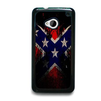 BROWNING REBEL FLAG HTC One M7 Case Cover