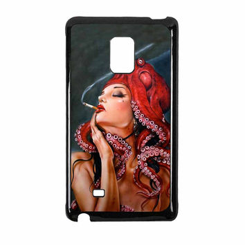 Octopus Tattooed Sigaret Samsung Galaxy Note Edge Case