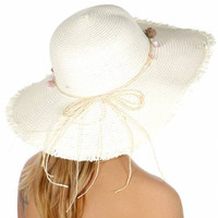 Boho Summer Floppy Hat (3 Colors)