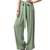 CHANTAL PALAZZO PANTS - BOTTOMS - WOMEN'S