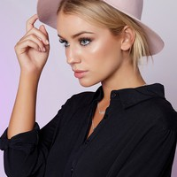 Rhythm Pocket Hat Blush