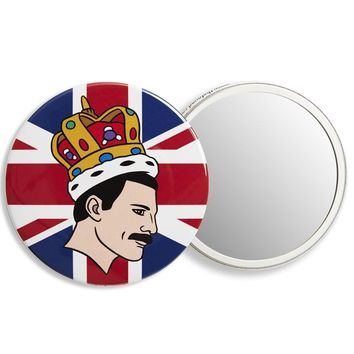 THE FOUND POCKET MIRROR - FREDDIE MERCURY