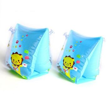 Swimming Pool beach Baby Cartoon Arm Swimming Ring Child Inflatable Swimming Rings Safety Swim Training Arm Float 5 colorsSwimming Pool beach KO_14_1