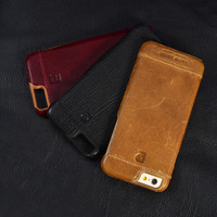Luxury Genuine Leather Case For iPhone 7 and iPhone 7 Plus