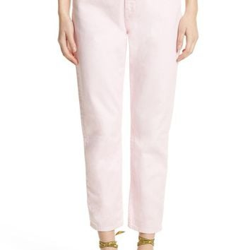 Off-White Belted Jeans (Pink White) | Nordstrom