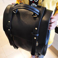 Back To School On Sale Comfort College Casual Hot Deal Stylish Korean Vintage Decoration Backpack [6582706183]