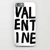 valentine iPhone & iPod Case by Her Art
