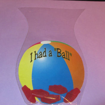 BEACH BALL Favor,kids party,Party treat,party favor, birthday favor,round Bags and ties INCLUDED
