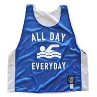 Swimming All Day Everyday Pinnie