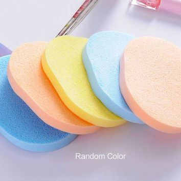 DCCKKFQ Good Sale 1 Pc Seaweed Cleansing Flutter  Makeup Puff Seaweed Wash Puff  Beauty Wash Your Face Make Up Sponge Pad