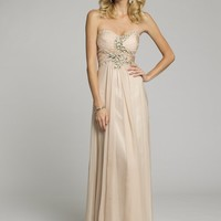 Prom Dresses 2013 - Strapless Chiffon Grecian Prom Dress from Camille La Vie and Group USA