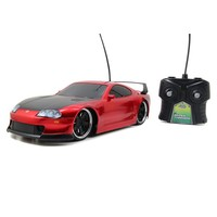 HyperChargers 1:16 Toyota Supra Remote Control Car (Red)