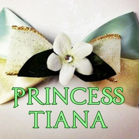 Princess Tiana Inspired Hair Bow