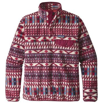 Patagonia Women's LW Synch Snap-T Fleece Pullover