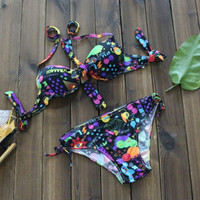 Sexy Swimsuit Bathing Suit Push up Bikini Set