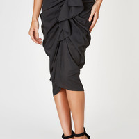 Pageant Queen Midi Skirt