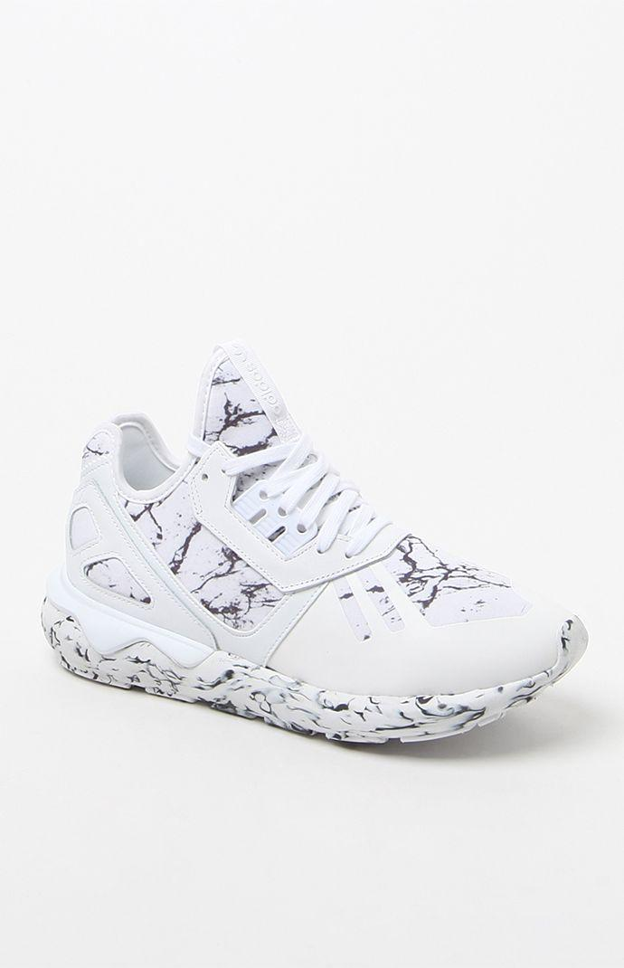 adidas Tubular Runner High-Top Sneakers - Womens Shoes - White 30076559d2