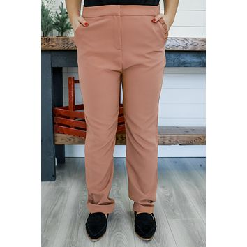 Updated Status Pants - Dark Camel