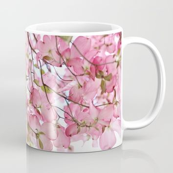 pink dogwoods Mug by Sylvia Cook Photography