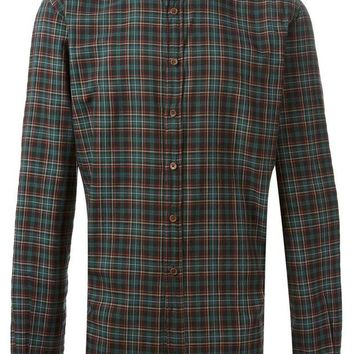 DCCKIN3 Koike Barcelona plaid pattern shirt