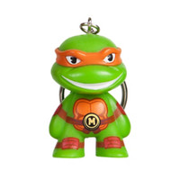 Teenage Mutant Ninja Turtles X Kidrobot Michelangelo Key Chain