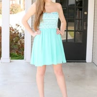 Resort Fling Dress - Mint