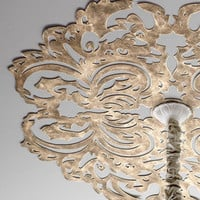 Lace Pattern Ceiling Medallion