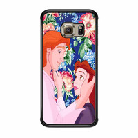 Beauty And The Beast Floral Samsung Galaxy S6 Edge Case