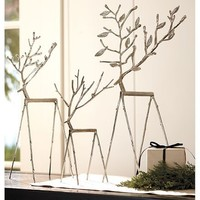 Twig Reindeer, Set of 3