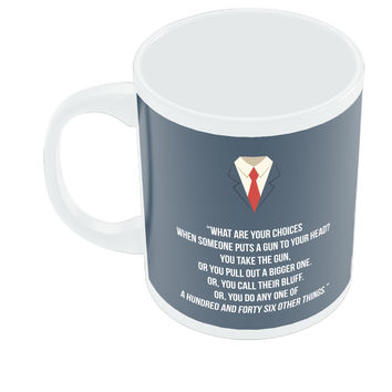 Suits Harvey Spector Quote Coffee Mug