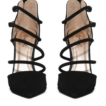 Virtue Strap Pumps