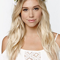 With Love From CA Oversized Floral Headband at PacSun.com