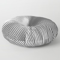 Grays Floor Pillow by duckyb