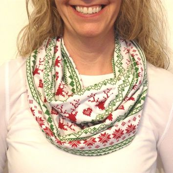Holiday Deer Woodlands Scarves-Perfect Holiday Gifts-3 Colors