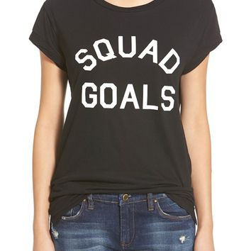 Madison & Berkeley 'Squad Goals' Tee | Nordstrom